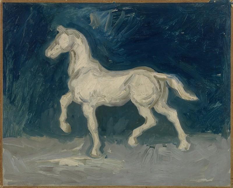 Plaster Statuette of a Horse. Vincent van Gogh