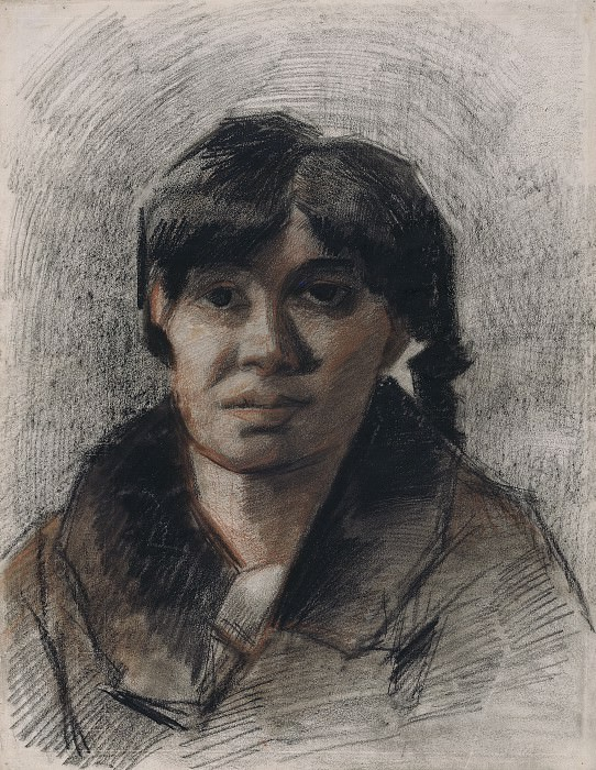 Portrait of a Woman. Vincent van Gogh