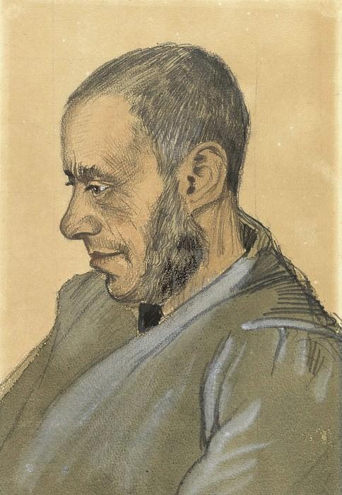 Portrait of Jozef Blok. Vincent van Gogh