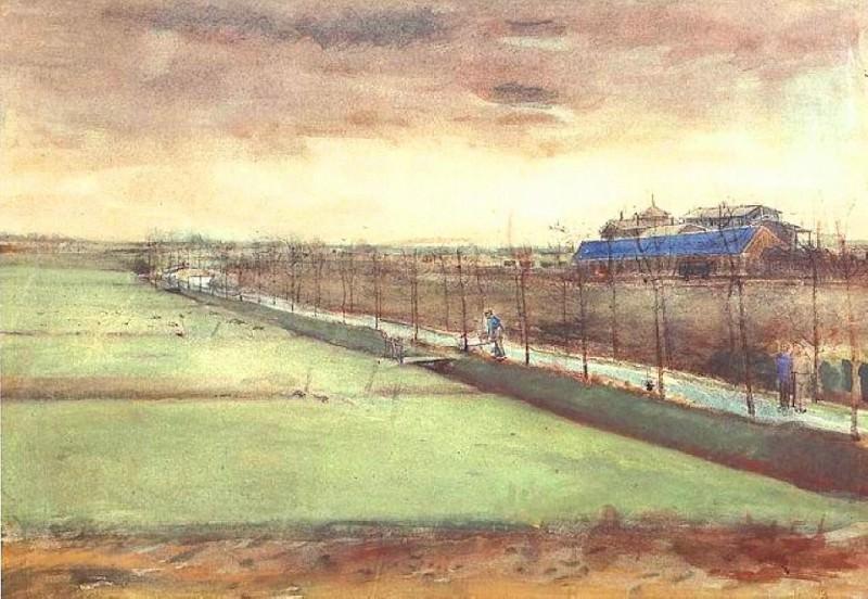 Meadows near Rijswijk. Vincent van Gogh