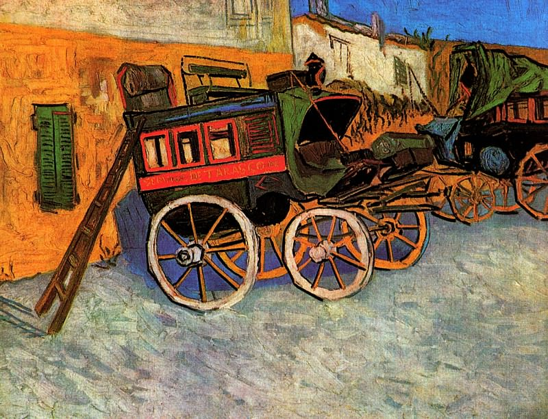 Tarascon Diligence. Vincent van Gogh