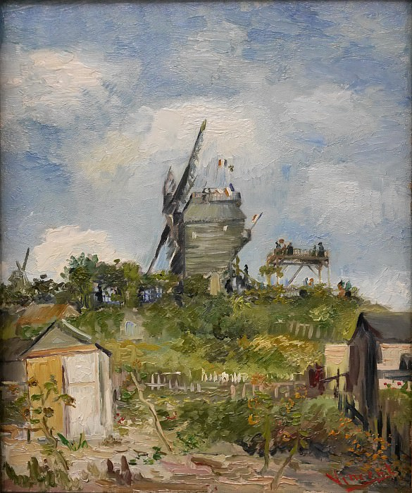 Le Moulin de la Gallette. Vincent van Gogh
