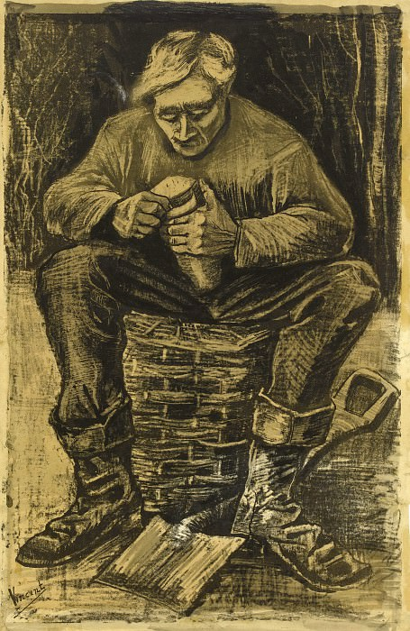 Workman. Vincent van Gogh