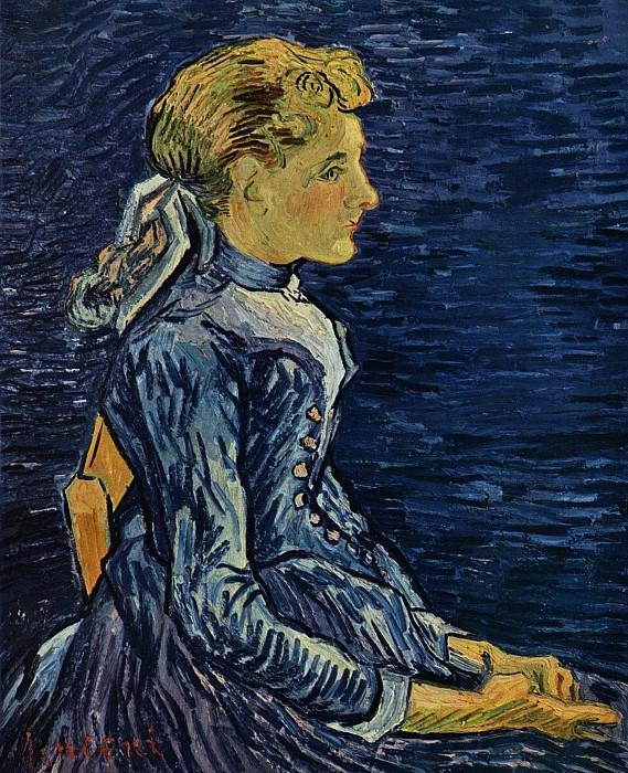 Portrait de Mademoiselle Ravoux. Vincent van Gogh