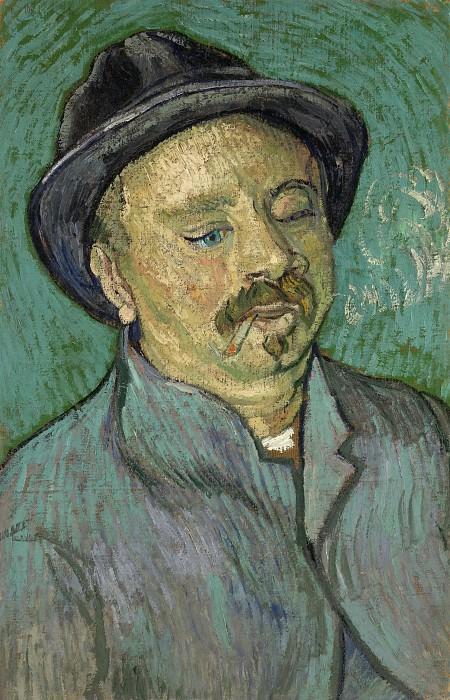 Portrait of a One-Eyed Man. Vincent van Gogh