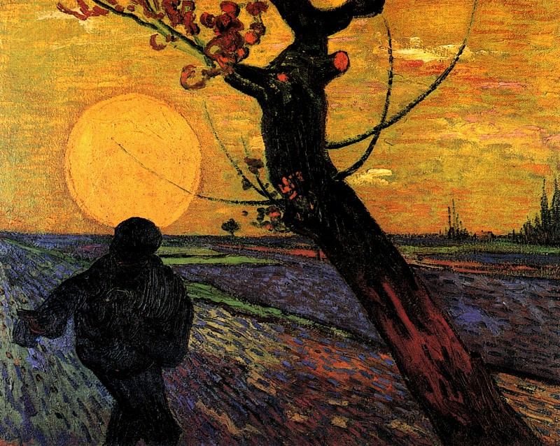 The Sower. Vincent van Gogh