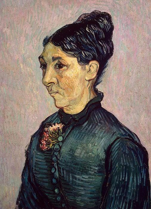 Portrait of Madame Trabuc. Vincent van Gogh