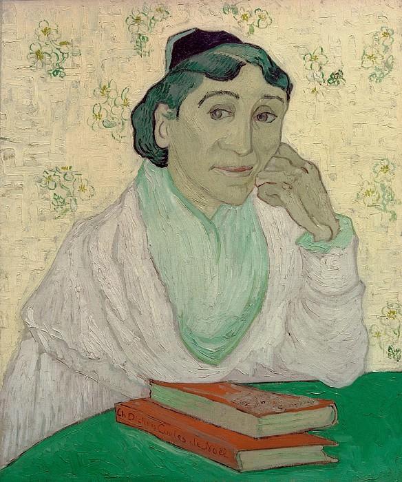 Арлезианка (Мадам Жину). Винсент Ван Гог