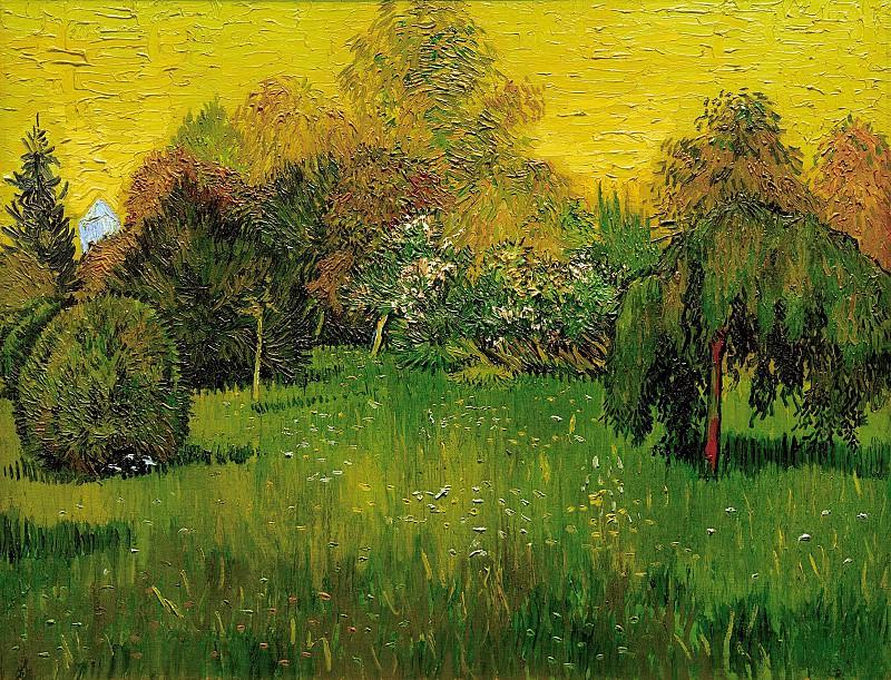 The Poet´s Garden I. Vincent van Gogh
