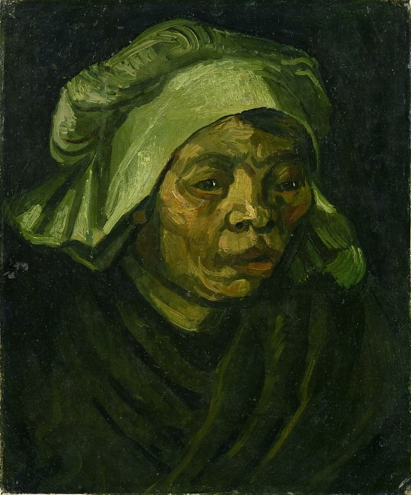 Head of a Woman. Vincent van Gogh