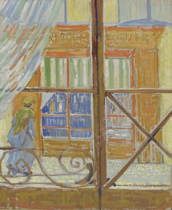 A Pork-Butchers Shop Seen from a Window. Vincent van Gogh