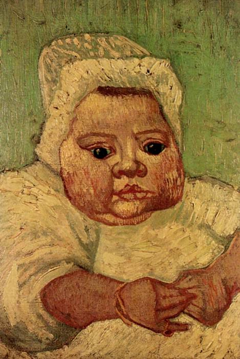The Baby Marcelle Roulin. Vincent van Gogh