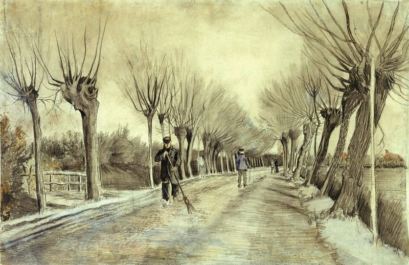Road in Etten. Vincent van Gogh