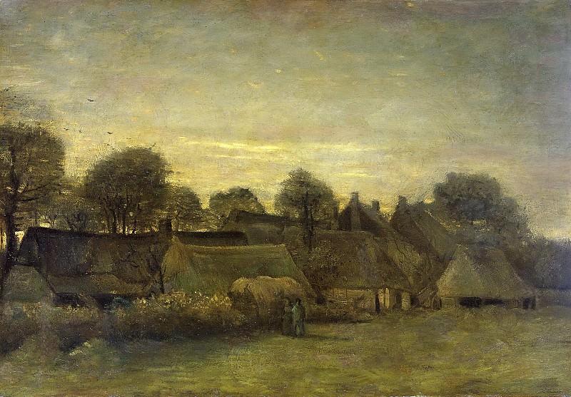 Village at Sunset. Vincent van Gogh