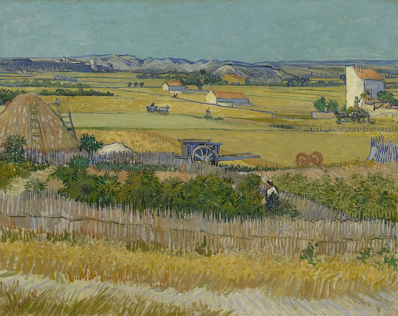 Сбор урожая. Винсент Ван Гог