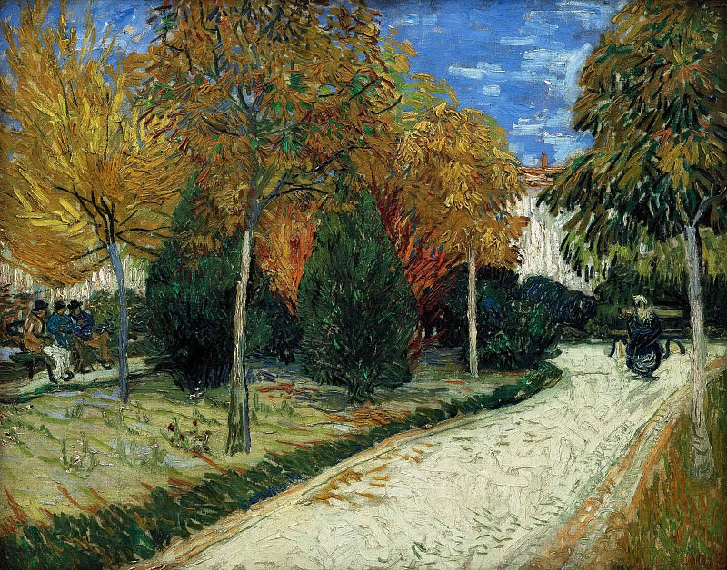 The Public Park at Arles. Vincent van Gogh
