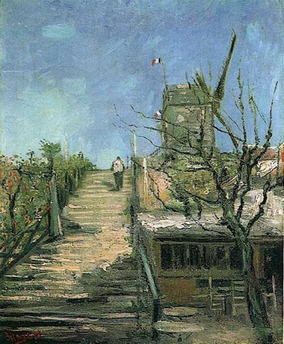 Windmill on Montmartre. Vincent van Gogh