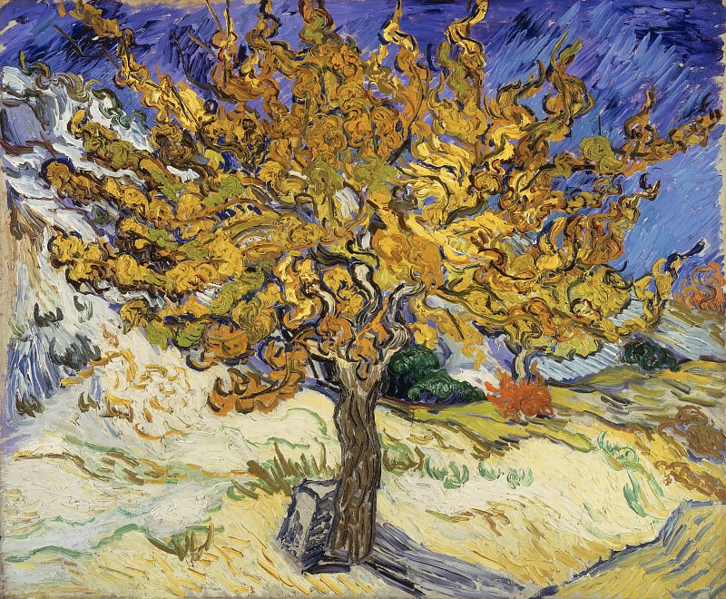 The Mulberry Tree. Vincent van Gogh
