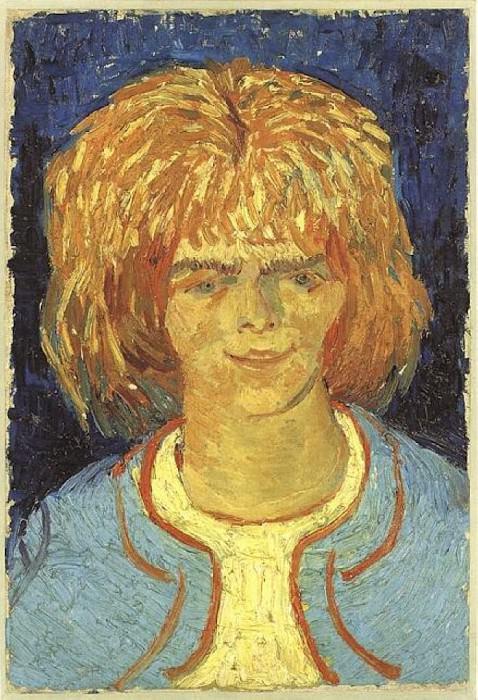 Девочка с растрепанными волосами (Беспризорница). Винсент Ван Гог