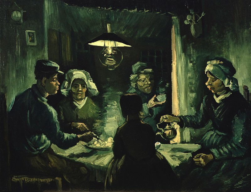 The potato eaters. Vincent van Gogh