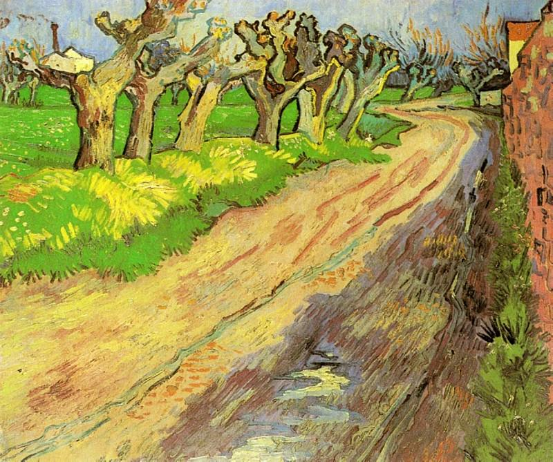 Pollard Willows, 1889. jpeg. Vincent van Gogh