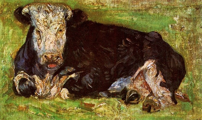 Lying Cow. Vincent van Gogh