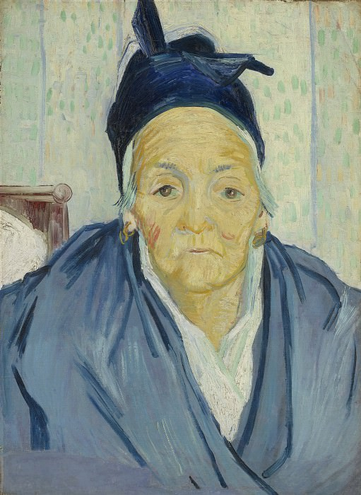 An Old Woman of Arles. Vincent van Gogh