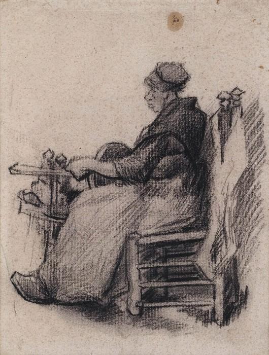 Woman Winding Yarn. Vincent van Gogh