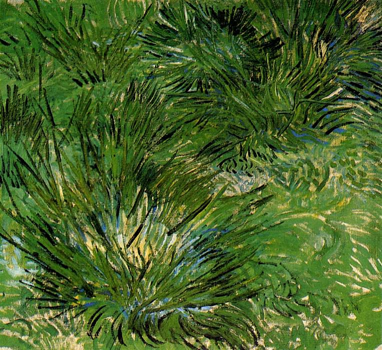 Clumps of Grass. Vincent van Gogh