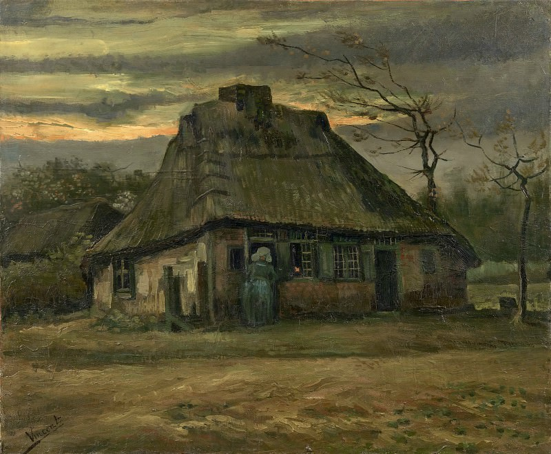The Cottage. Vincent van Gogh