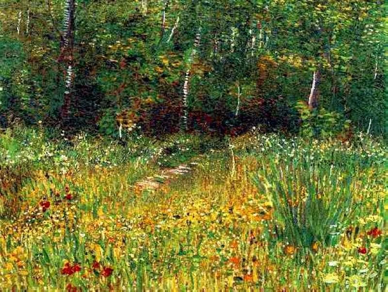 Park at Asnieres in Spring. Vincent van Gogh