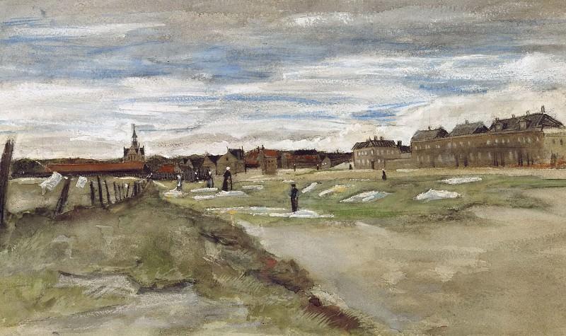 Bleaching Ground. Vincent van Gogh
