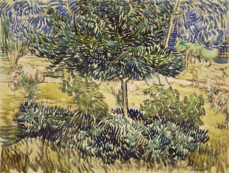 Trees and Shrubs. Vincent van Gogh