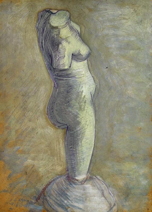 Plaster torso of a Woman. Vincent van Gogh