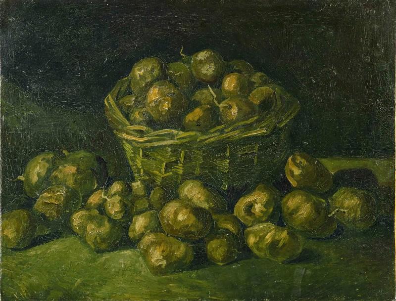 Basket of Potatoes. Vincent van Gogh