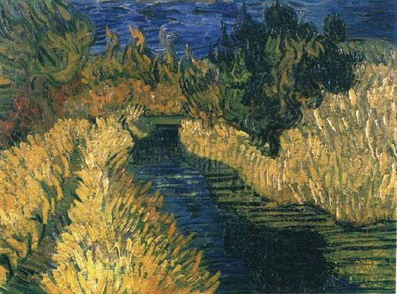 The Little Stream. Vincent van Gogh