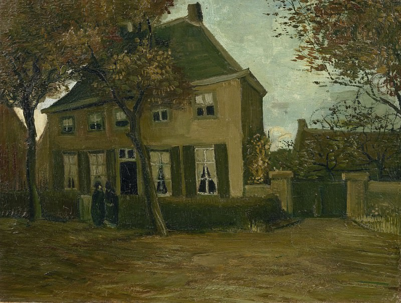 The Parsonage at Nuenen. Vincent van Gogh