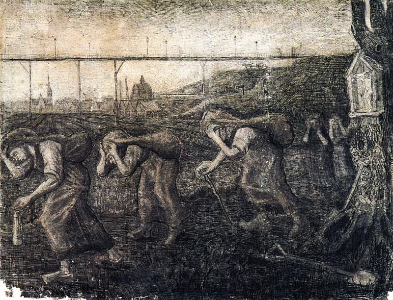 The Bearers of the Burden. Vincent van Gogh