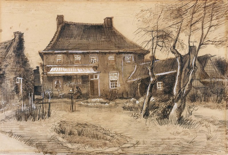 The Vicarage at Neunen. Vincent van Gogh