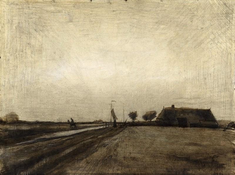 Landscape in Drenthe. Vincent van Gogh