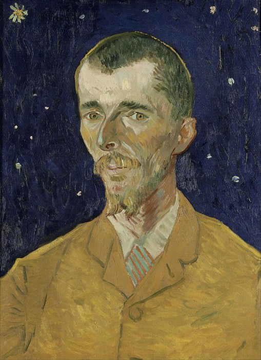 Portrait of Eugene Boch. Vincent van Gogh