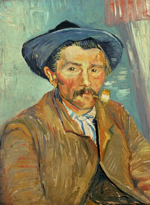 The Smoker. Vincent van Gogh