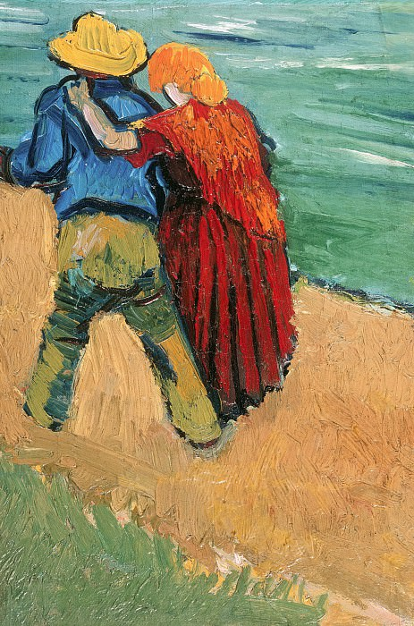 Two Lovers (Fragment). Vincent van Gogh