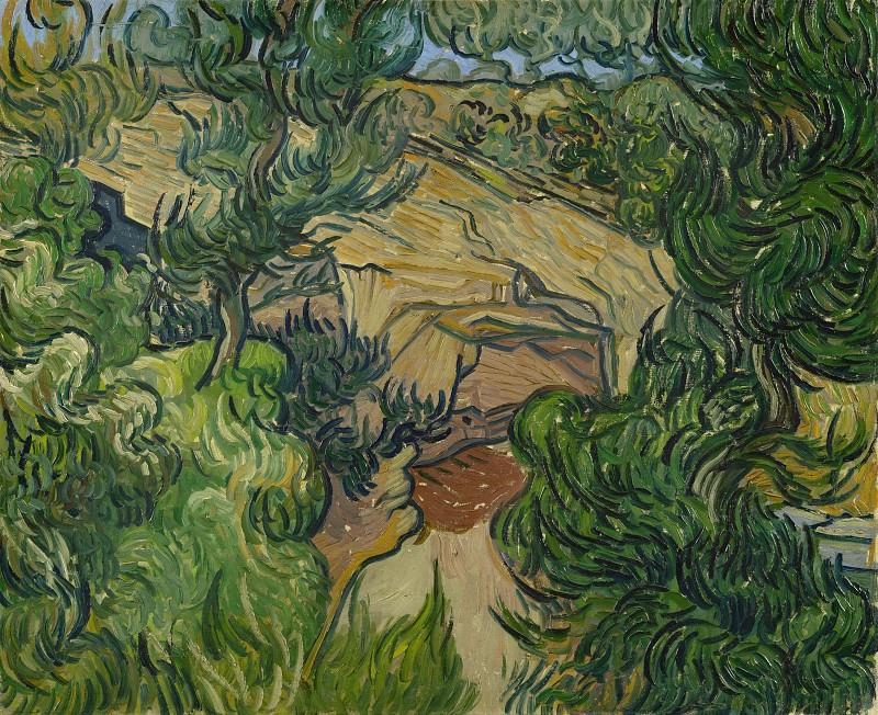 Entrance to a Quarry. Vincent van Gogh