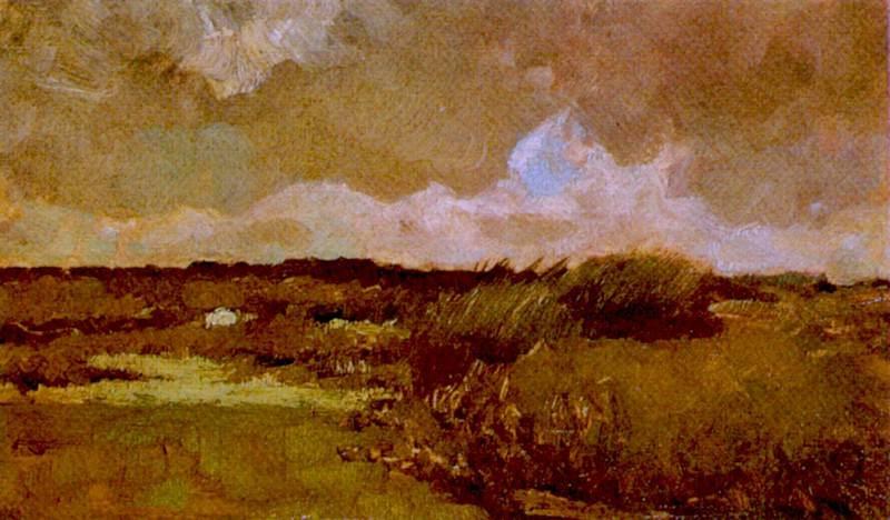 Болотистый пейзаж. Винсент Ван Гог