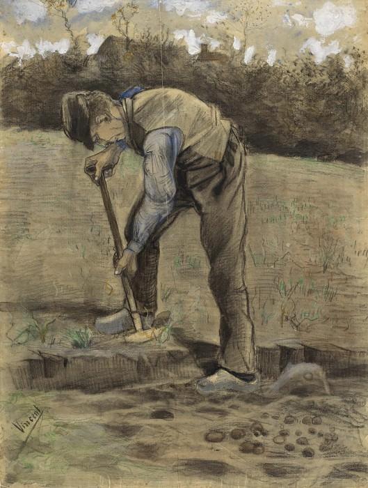 A Digger. Vincent van Gogh