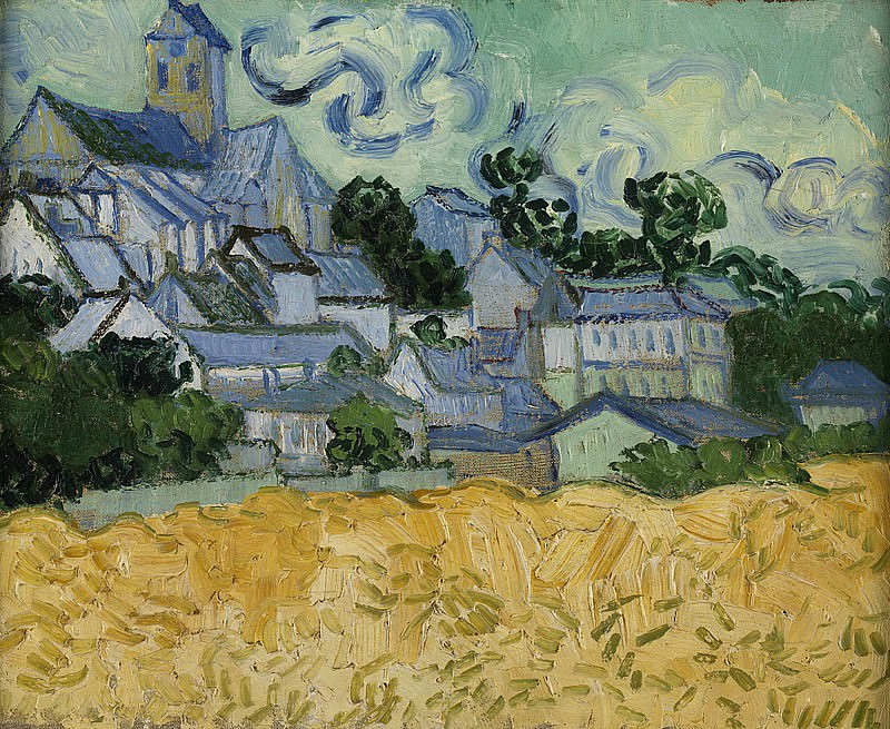 View of Auvers with Church. Vincent van Gogh