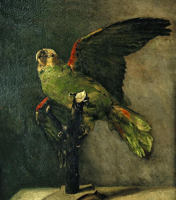 The Green Parrot. Vincent van Gogh