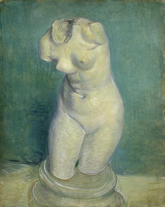 Гипсовый женский торс. Винсент Ван Гог