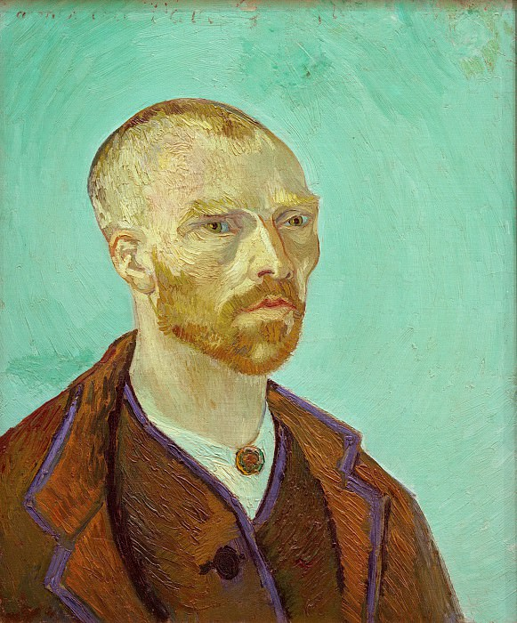 Self-Portrait Dedicated to Paul Gauguin. Vincent van Gogh